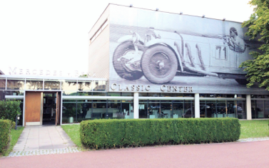 Wolf Gast @ Mercedes-Benz Classic Center Fellbach