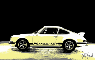 Wolf Gast - Lemonade - Porsche 911 Carrera RS 2.7